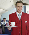 Austrian Airlines male flight attendant.jpg