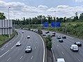 Autoroute A4 vue depuis Pont Avenue Tremblay Paris 2.jpg