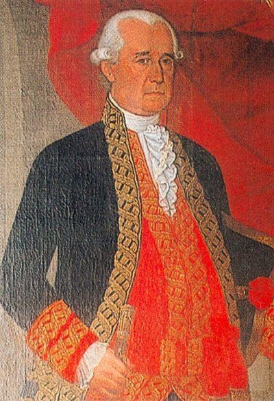 Retrato de Gabriel Avilés y del Fierro.
