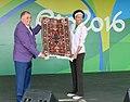 Azerbaijan Flag Raising Ceremony at the 2016 Summer Paralympics 16.jpg