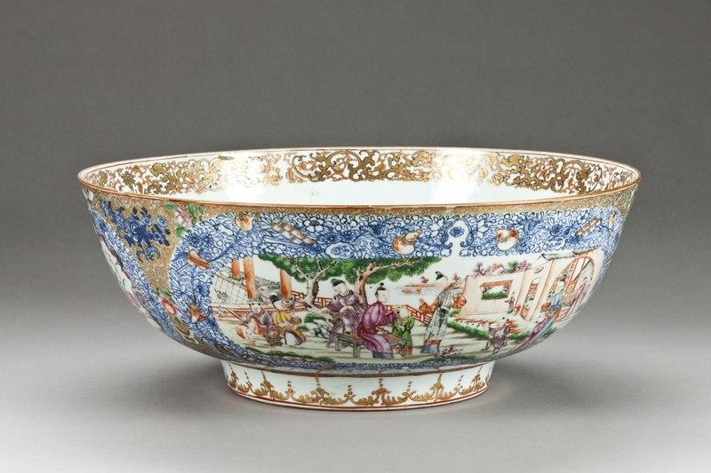 File:Bålskål tillverkad i Kina, cirka 1770 - Hallwylska museet - 99454.tif