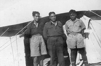 Charles Bennett (high commissioner) - Colonel Charles Bennett (centre), North Africa, c.1942.