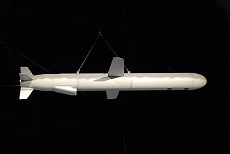 BGM-109G Ground Launched Cruise Missile - BGM-109G on display at the National Museum of US Air Force.