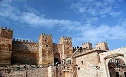 Castillo de burgalimar wikipedia la enciclopedia libre - Castillo de banos de la encina ...