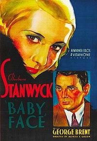 Baby Face (1933 film poster) crop.jpg