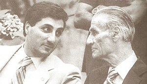 Bachir Gemayel - Bachir with his Father Pierre