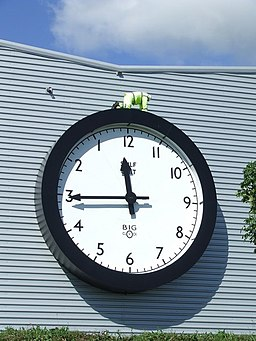 Backward Clock - geograph.org.uk - 548623