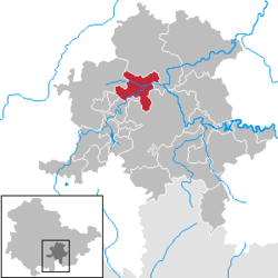 Bad Blankenburg – Mappa