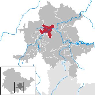 Bad Blankenburg - Image: Bad Blankenburg in SLF