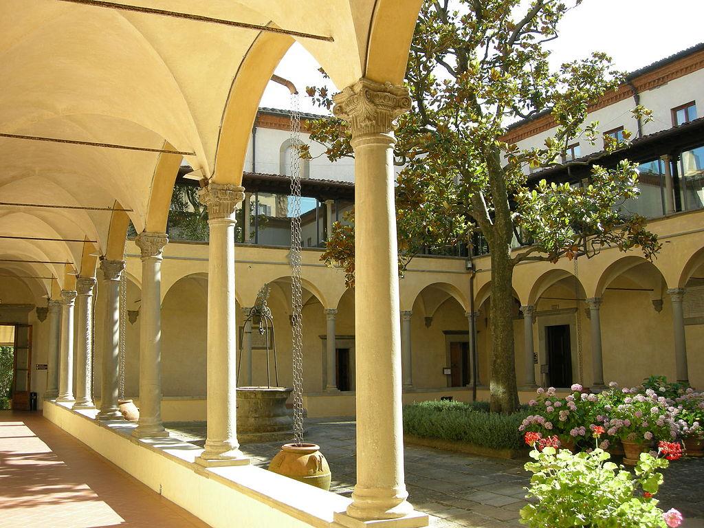 Badia fiesolana, chiostro rinascimentale (European University Institut)