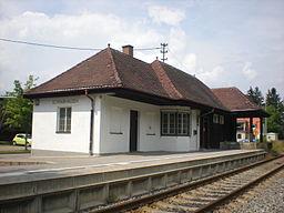 Bahnhof Schwabhausen Empfangsgebäude