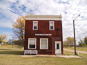 Balfour, North Dakota - Balfour Community Hall and Post Office in Balfour