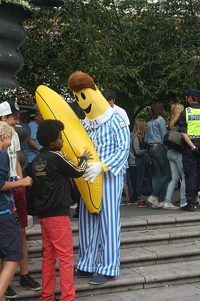 Bananas In Pyjamas Cake Template