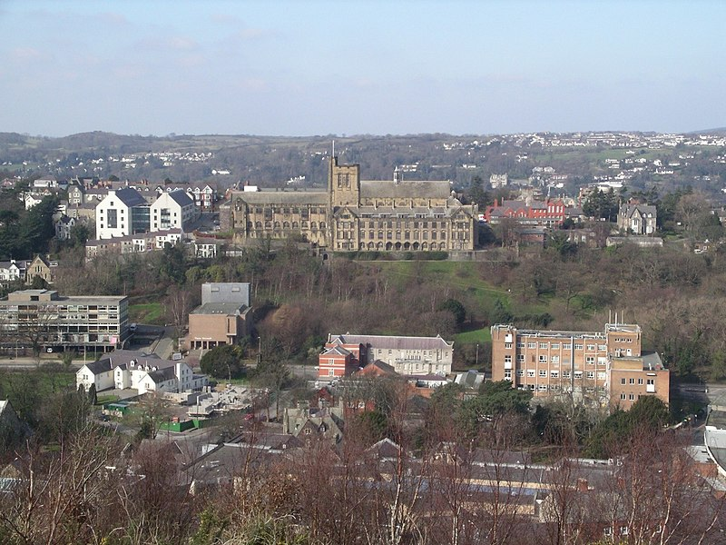 File:Bangor from Bangor-mountain.jpg