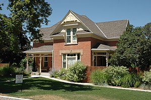 National Register of Historic Places listings in Cache County, Utah - Image: Bankhead House Wellsville Utah
