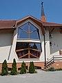 Baptistisches Gebetshaus, Fenster, 2019 Veresegyház.jpg
