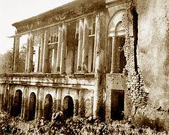 Baranagar Math, zniszczonym domu z XIX wieku