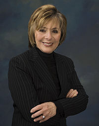Portrait officiel de Barbara Boxer.