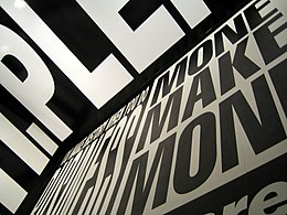 Barbara Kruger at ACCA, Melbourne.jpg
