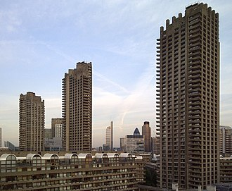 Barbican Estate - Barbican Towers