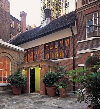 Gresham College - Barnard's Inn Hall, the current home of Gresham College