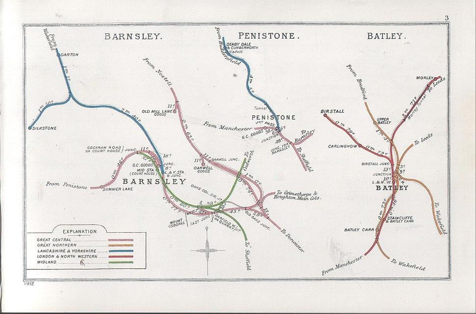 Barnsley, Penistone, Batley RJD 3