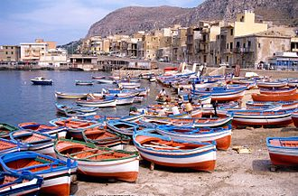 Bagheria - Fishing boats in Aspra