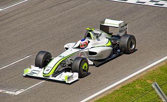 Brawn BGP 001 - Rubens Barrichello at the 2009 Spanish Grand Prix.