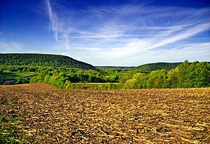 Barry Township, Schuylkill County, Pennsylvania - A farm in Barry Township