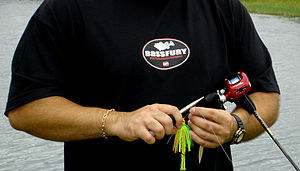 Fishing lure - Image: Bass fishing lures