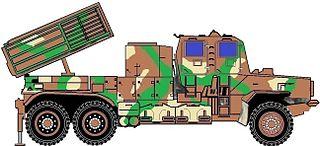 Bateleur FV2 Multiple rocket launcher