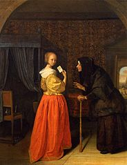 Bathsheba receiving David's Letter