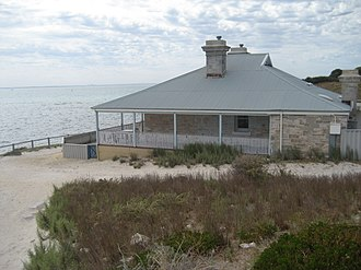 Bathurst Lighthouse - Former lighthouse keepers residence