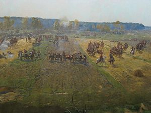 Battle of Borodino panorama - detail 08.jpg