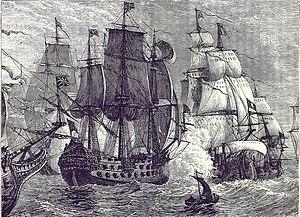 Image result for batalla de Goodwin Sands