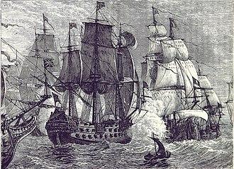 Battle of Goodwin Sands - Image: Battle of Goodwin Sands