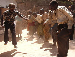 Great Lakes Twa - A traditional dance of the Batwa