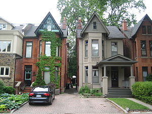 The Annex - Bay-and-gable houses in The Annex