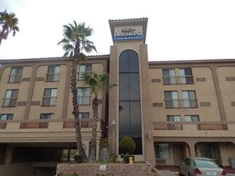 Baymont Inn & Suites - Baymont at 14814 Hawthorne Blvd. in Lawndale in suburban Los Angeles, California