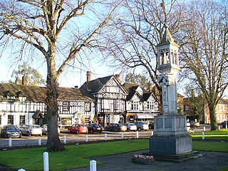 Beaconsfield town in Buckinghamshire, England