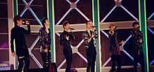 Beast at Lotte Giants 2010 Special Concert 100321.jpg