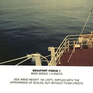 Beaufort scale - Image: Beaufort scale 1