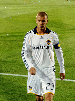 David Beckham in LA Galaxy cropped from origin...