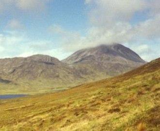 Beinn a' Chaolais - Beinn a' Chaolais from the south eastern slope of Beinn Shiantaidh
