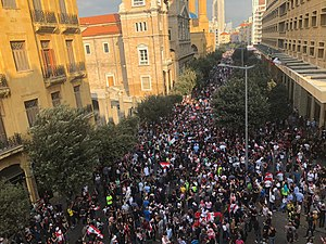 2019 2020 Lebanese Protests Wikipedia