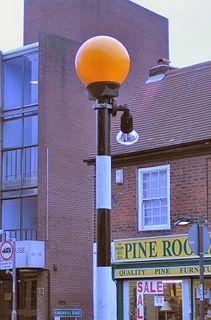 Belisha beacon Design of lamp