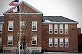 Bellevue Elementary (Iowa) Flagpole and Facade.jpg