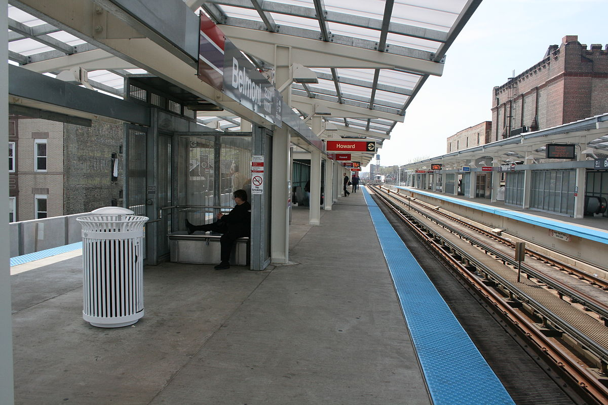 Belmont station cta north side main line wikipedia sciox Gallery