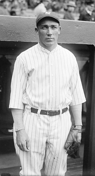 Ben Paschal - Paschal before a game during the 1925 New York Yankees season