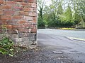 Benchmark - Newhampton Road - geograph.org.uk - 1834463.jpg